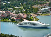 Aerial view of Naantali Spa Resort